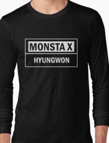 MONSTA X HYUNGWON Long Sleeve T-Shirt