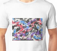 Colorful Mixed Media Art  Unisex T-Shirt