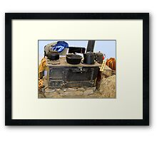 Chow Tent Framed Print