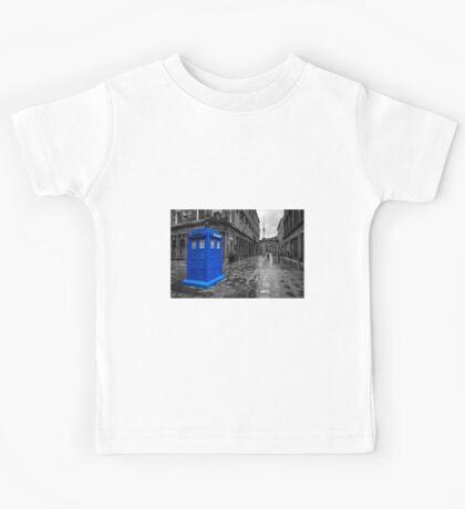 Blue Box  Kids Tee