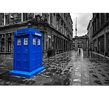 Blue Box  Photographic Print