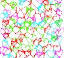 Colourful HeArts  - JUSTART © by JUSTART