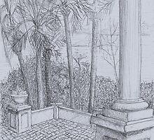 Patio by W. H. Dietrich