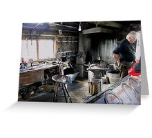 The Blacksmith's Shop Greeting Card