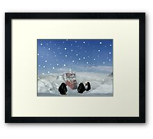 Sleeping with the Penguins Framed Print