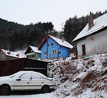 Blue house by zumi