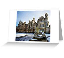 Classics castle Greeting Card