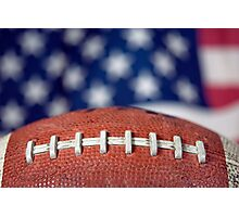 Super Bowl Ball Photographic Print