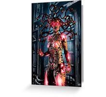 Cyberpunk Painting 067 Greeting Card