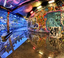 Graffiti Art Reflected by Guy Carpenter