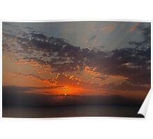 Huron Sunrise Poster