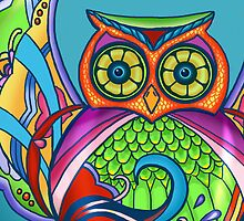 Jeweled Owl Cropped by M McKeithen