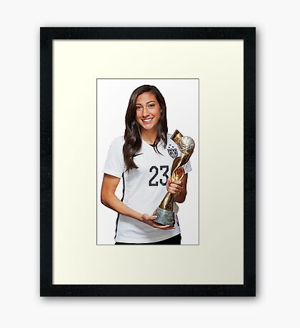 Christen Press - World Cup Framed Print