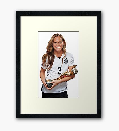 Christie Rampone - World Cup Framed Print