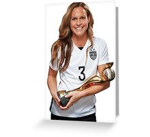 Christie Rampone - World Cup Greeting Card