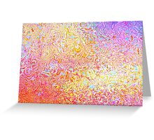 Wet Glass Greeting Card