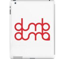 dumb dumb red velvet iPad Case/Skin