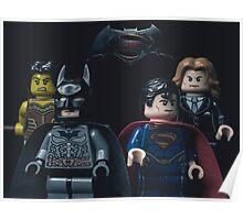 Batman vs Superman: Dawn of Justice - Lego Parody Poster