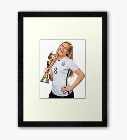Amy Rodriguez - World Cup Framed Print