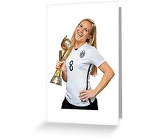 Amy Rodriguez - World Cup Greeting Card