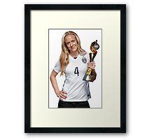 Becky Sauerbrunn - World Cup Framed Print