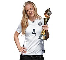Becky Sauerbrunn - World Cup Photographic Print