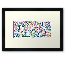 Henri Matisse Cut-Out Framed Print