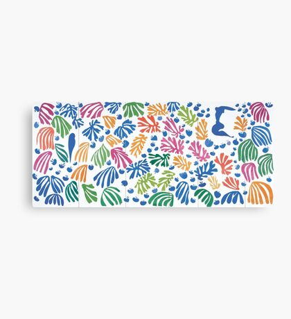 Henri Matisse Cut-Out Canvas Print