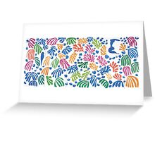 Henri Matisse Cut-Out Greeting Card