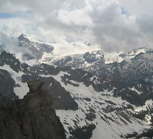 Near the Clouds - Switzerland by Danielle Ducrest