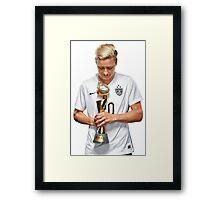 Abby Wambach - World Cup Framed Print