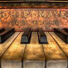 Schiedmayer Piano - HDR by Scott Sheehan