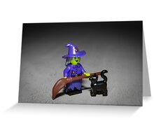Wacky Witch Greeting Card