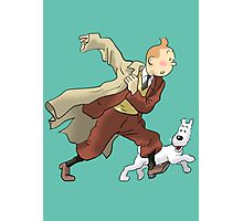 tintin Photographic Print