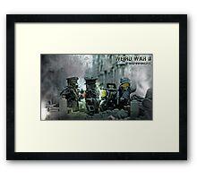 Lego Weird War rdv Framed Print