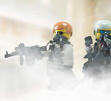Lego Bank robbers by Shobrick
