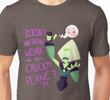 No Wifi Peridot Words Unisex T-Shirt