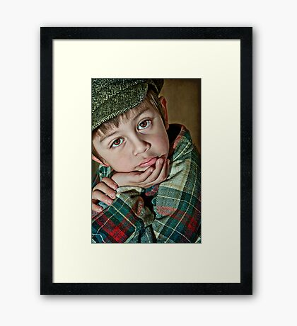Snakes and Snails and Puppy Dog Tails... Framed Print