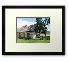 Butch Cassidy's Home Framed Print