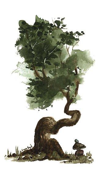 Little Tree 123 by Sean Seal