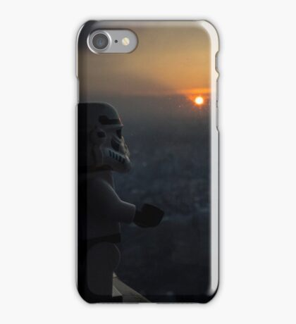 Lego Stormtrooper X Sunset in Roppongi iPhone Case/Skin