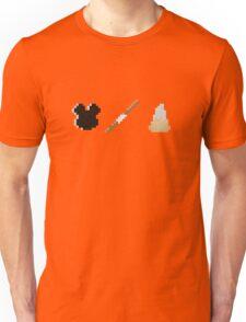 Disneyland Minecraft Food Items Unisex T-Shirt