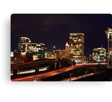 Urban Center Canvas Print