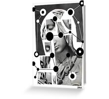 deconstructed madonna Greeting Card
