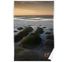 Hunstanton Rocks at Sunset Poster