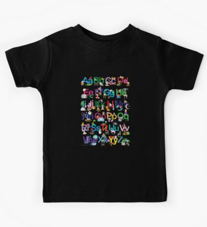 Alphabet for kids Kids Tee