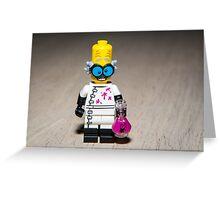 Mad Scientist Greeting Card