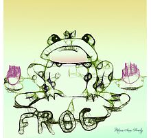 Little Frog Sits Photographic Print