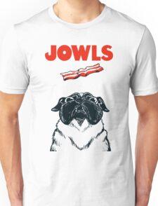 JOWLS Pug Movie Poster Parody Unisex T-Shirt