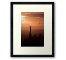 Copper Spire Framed Print